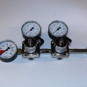 Dubbel reduceer ventiel 7 bar